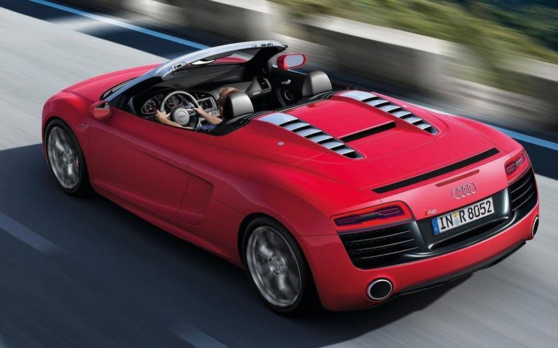 Фото Audi R8 Spyder  (2012-2014)