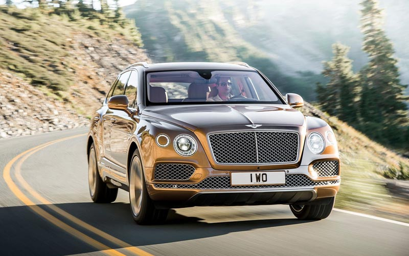 Фото Bentley Bentayga