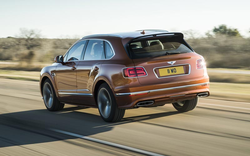 Фото Bentley Bentayga Speed