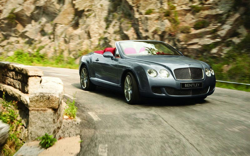 Фото Bentley Continental GTC Speed  (2009-2011)