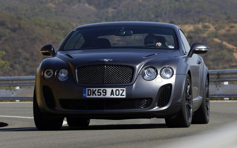 Фото Bentley Continental Supersports  (2009-2011)