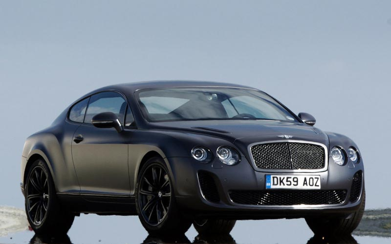 Фото Bentley Continental Supersports  (2009-2011)