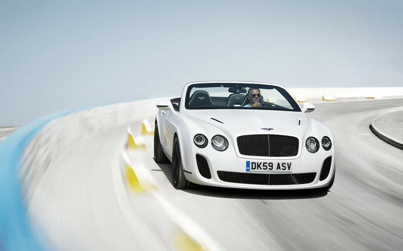 Фото Bentley Continental Supersports Convertible  (2010-2011)