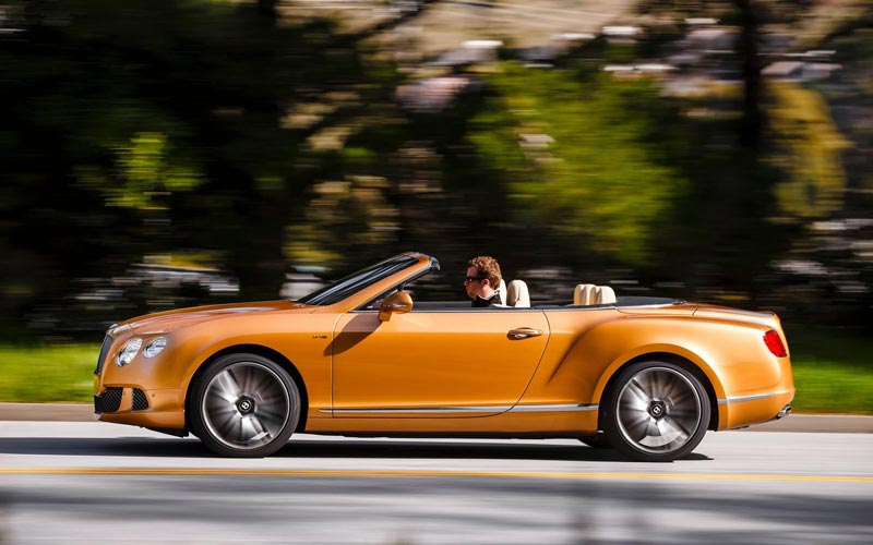 Фото Bentley Continental GTC Speed  (2013-2015)