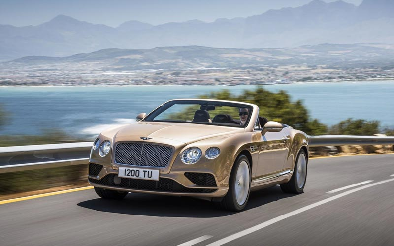 Фото Bentley Continental GTC