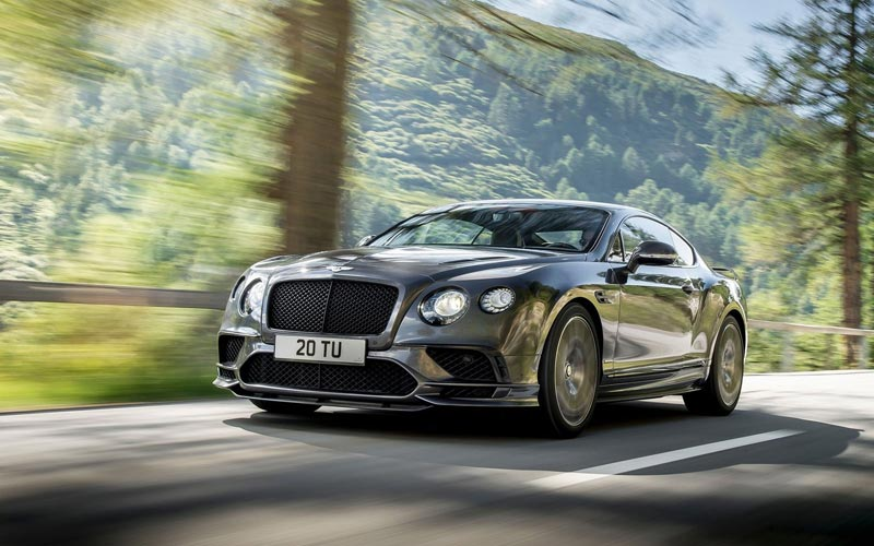Фото Bentley Continental Supersports
