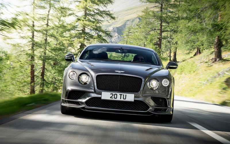 Фото Bentley Continental Supersports Convertible