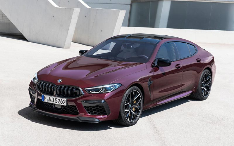 Фото BMW M8 Gran Coupe