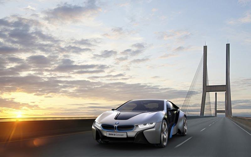 Фото BMW i8 Concept