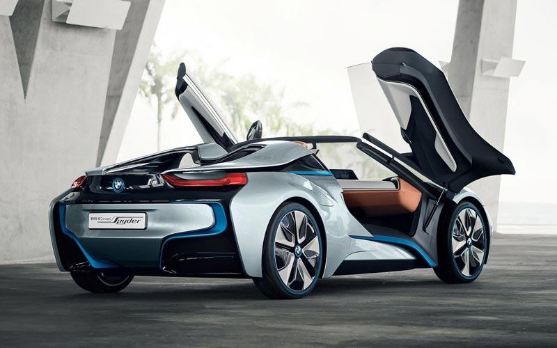 Фото BMW i8 Spyder Concept
