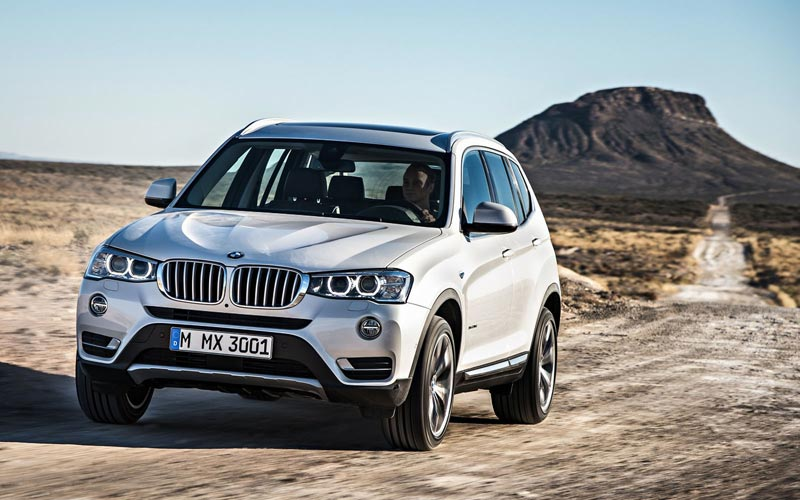 Фото BMW X3  (2014-2017)
