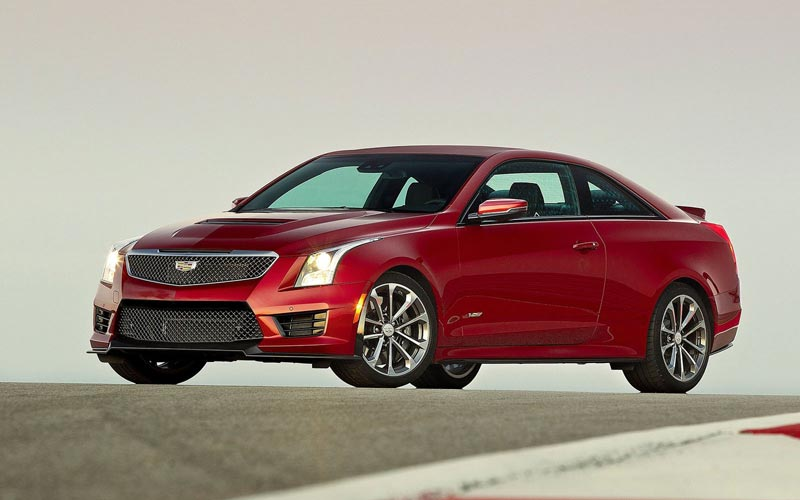Фото Cadillac ATS-V Coupe