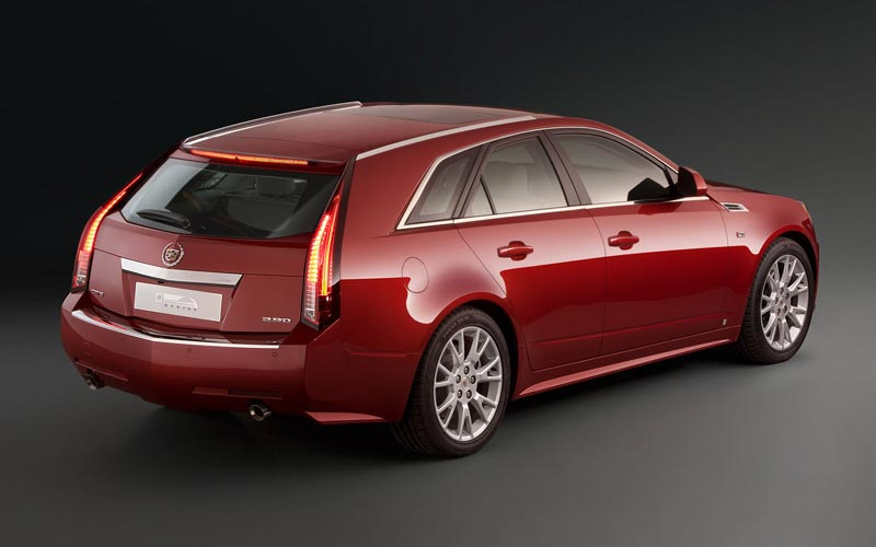 Фото Cadillac CTS Sport Wagon