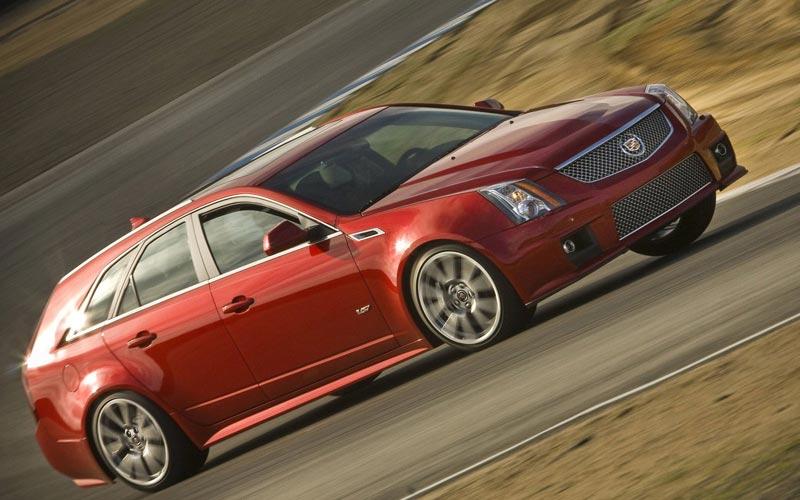 Фото Cadillac CTS-V Sport Wagon