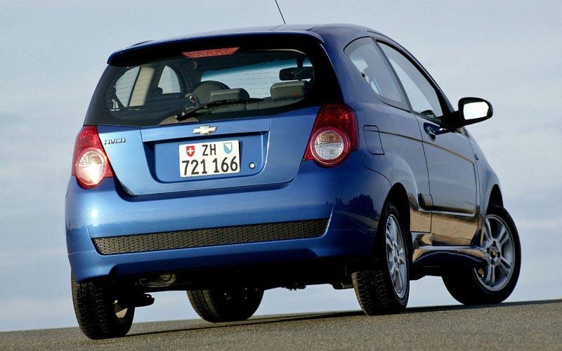 Фото Chevrolet Aveo 3-door
