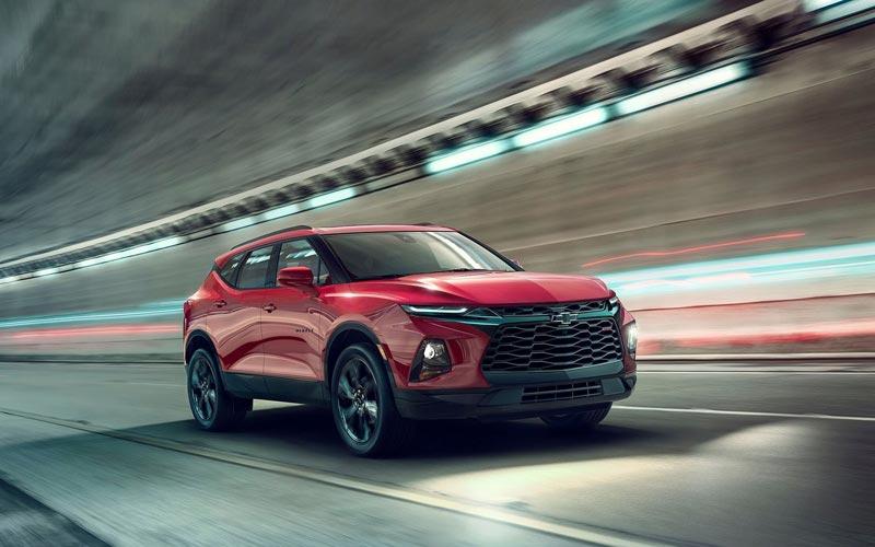 Фото Chevrolet Blazer 2018