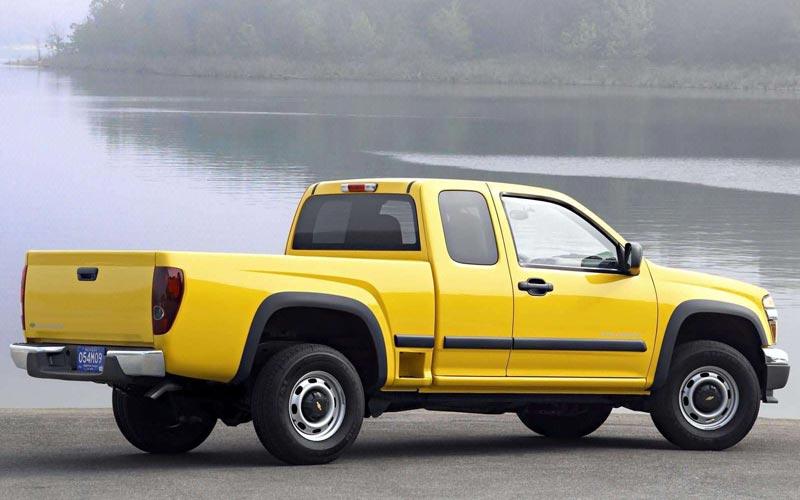 Фото Chevrolet Colorado Extended Cab