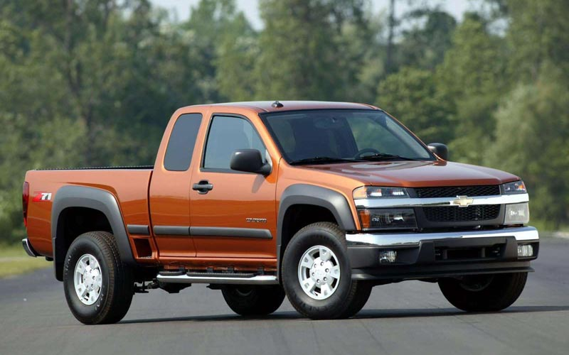 Фото Chevrolet Colorado Extended Cab