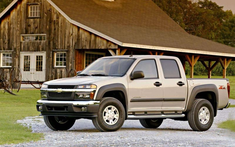 Фото Chevrolet Colorado Crew Cab