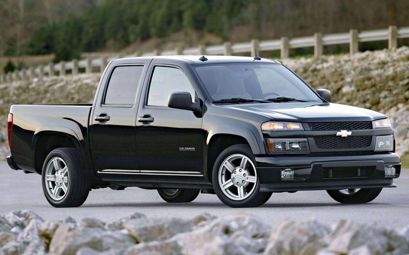 Фото Chevrolet Colorado Crew Cab