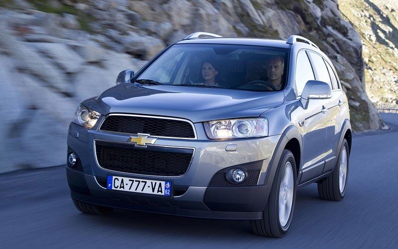 Фото Chevrolet Captiva