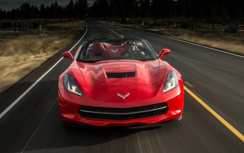 Фото Chevrolet Corvette C7 Stingray Convertible