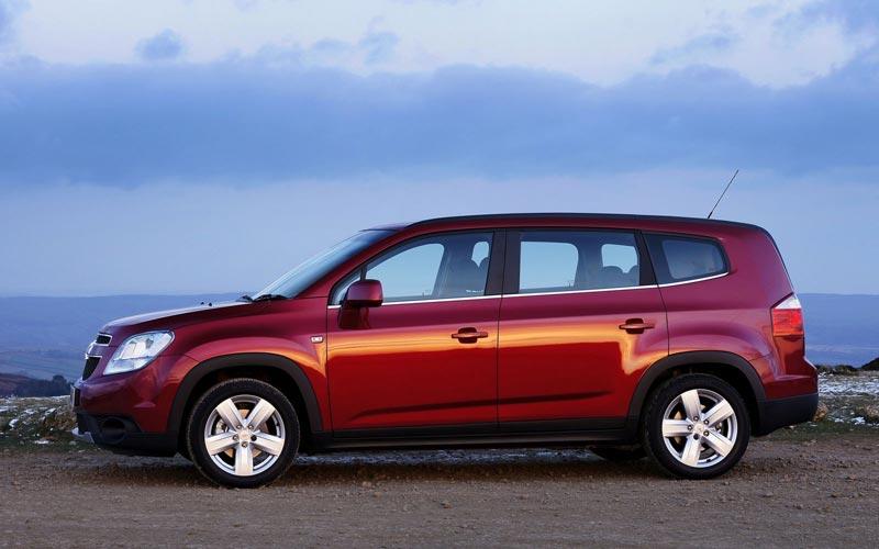 Фото Chevrolet Orlando