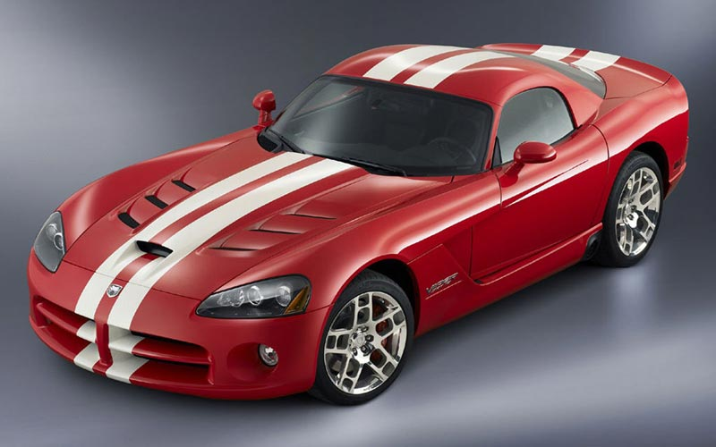 Фото Dodge Viper SRT-10 Coupe