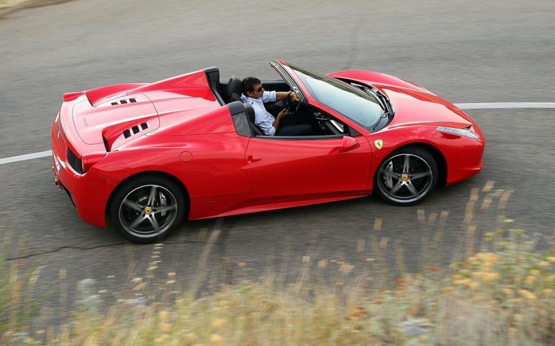 Фото Ferrari 458 Spider