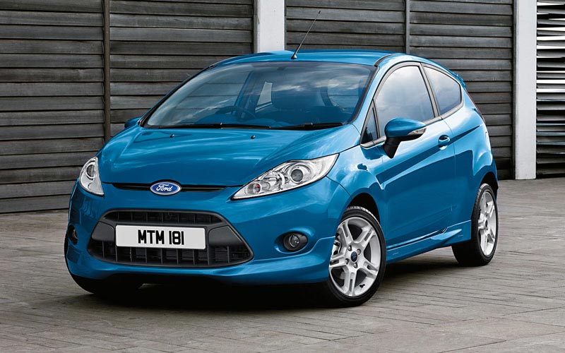 Фото Ford Fiesta 3-Door  (2008-2012)