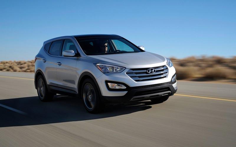 Фото Hyundai Santa Fe  (2012-2015)