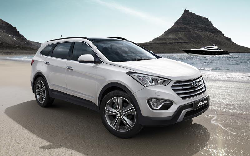 Фото Hyundai Santa Fe Grand  (2014-2016)