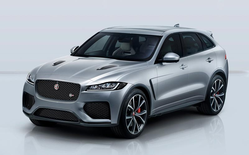 Фото Jaguar F-Pace SVR