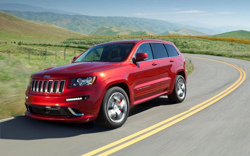 Фото Jeep Grand Cherokee SRT8  (2011-2013)