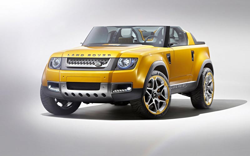 Фото Land Rover DC100 Sport Concept