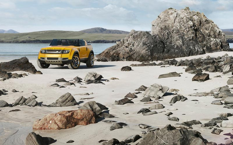 Фото Land Rover DC100 Sport Concept