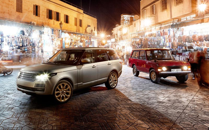 Фото Land Rover Range Rover  (2012-2017)