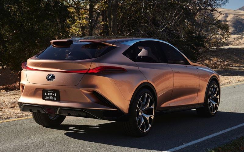 Фото Lexus LF-1 Limitless Concept
