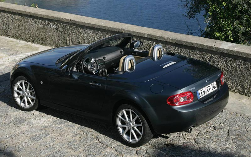 Фото Mazda MX-5 Roadster Coupe  (2009-2015)