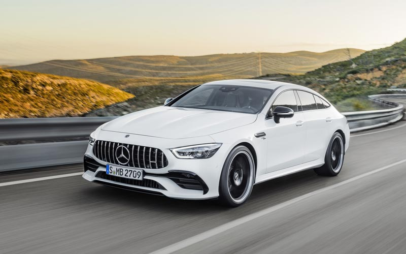 Фото Mercedes AMG GT53 4-Door Coupe