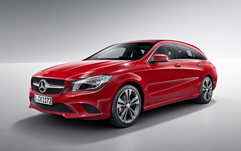 Фото Mercedes CLA Shooting Brake  (2014-2016)