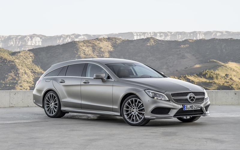 Фото Mercedes CLS Shooting Brake