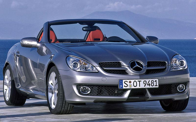 Фото Mercedes SLK  (2008-2010)