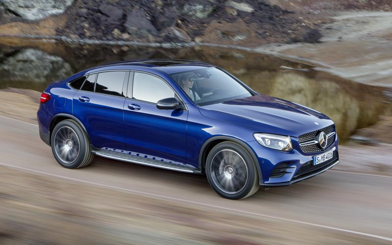 Фото Mercedes GLC Coupe  (2016-2019)