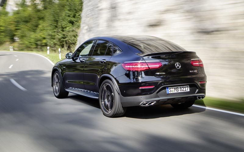 Фото Mercedes GLC 43 AMG Coupe  (2016-2019)