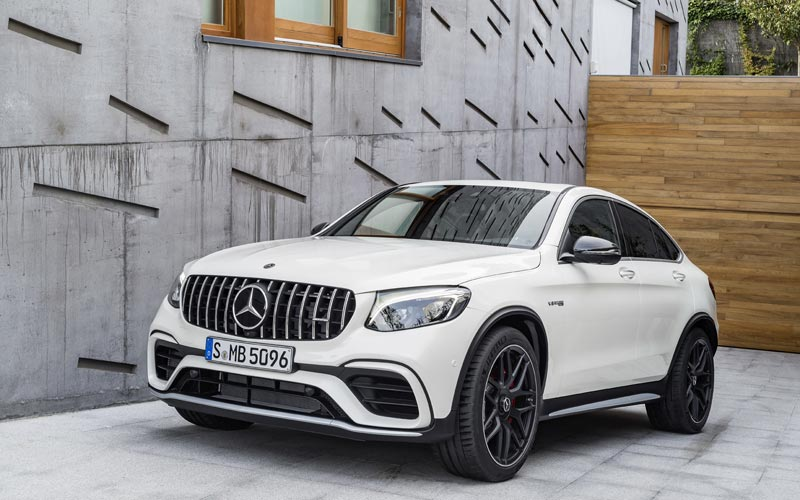 Фото Mercedes GLC 63 AMG Coupe