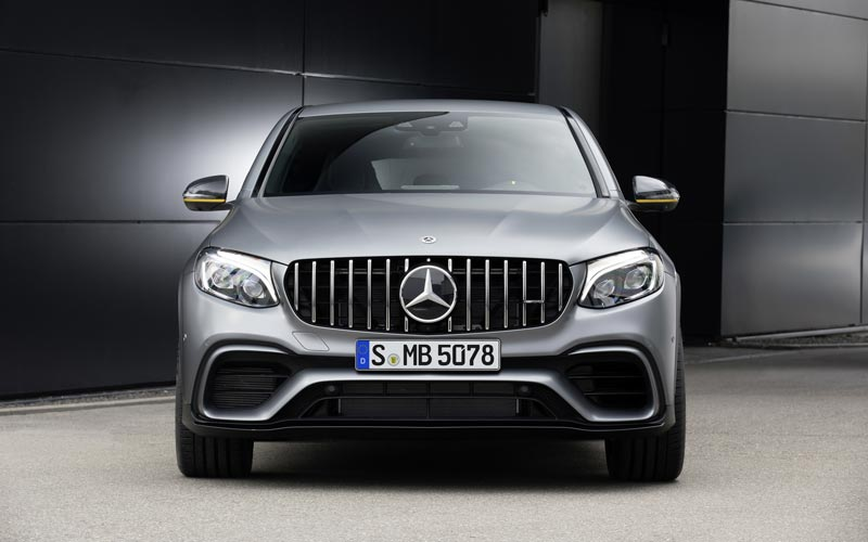 Фото Mercedes GLC 63 AMG Coupe