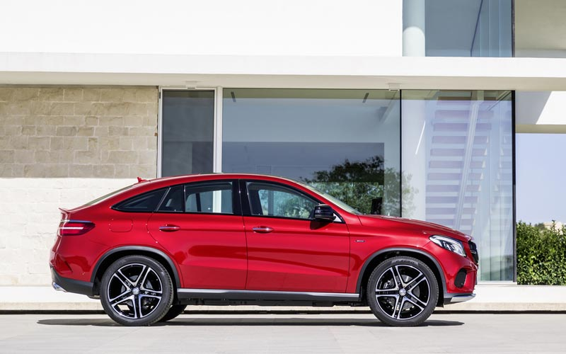Фото Mercedes GLE Coupe