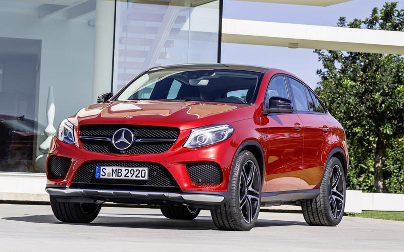 Фото Mercedes GLE Coupe