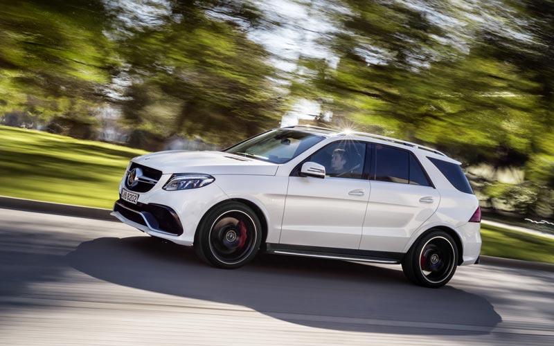 Фото Mercedes GLE 63 AMG
